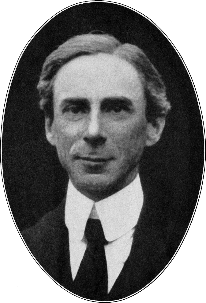 Another nerd: Bertrand Russell in 1916